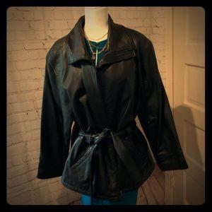 JLC Leather Jacket XL Heavy! Nice!